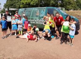 Ferienspaß beim SCI:Moers – Der Ball rollt