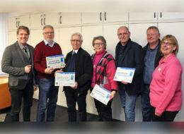 Klimaschutzflaggen an Moerser Repair-Cafés