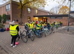 Fahrradprüfung in der Gemeinschaftsschule